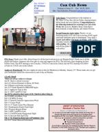 Cox News Volume 9 Issue 15