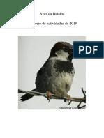Aves Da Batalha_relatório de Actividades'19