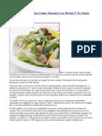 9 Consejos de Cuanto Comer Durante Las Fiestas Y No Morir en El Intento