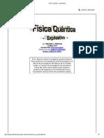 Física Quántica - Explicativo