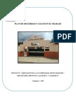 plan de seguridad construcción