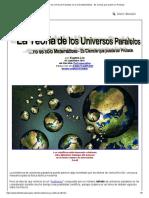 La Teoría de los Universos Paralelos no es sólo Matemáticas - Es Ciencia que puede ser Probada