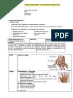 Tema 2 Artritis