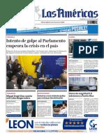 DIARIO LAS AMÉRICAS Edición digital del lunes 6 de enero de 2020