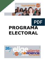 Programa-Partido-Humanista-Elecciones-Generales-2016
