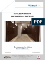 Manual Mantenimiento MAMPARAS ANTIGRAFITI 70