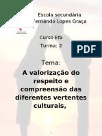 Trabalho de Cultura