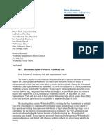 ACLUTX Letter to Wimberley ISD School Board