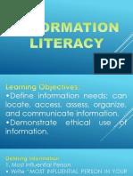 INFORMATION-Literacy