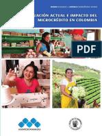 Situación actual e impacto de microcredito en Colombia julio 2019