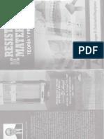 """RESISTENCIA DE MATERIALES - TEORÍA Y PROBLEMAS """"Mg. Ing. Douglas A. Quintanilla Anyaipoma"""""""