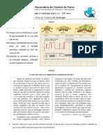 Ficha de trabalho Métodos de estudo geosfera