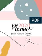 Planner CEMEC 2020 - Versão gratuita