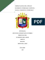 EFECTO DE LA FENILBUTAZONA EN PERROS