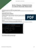 Telnet Commands for a Thomson Router