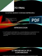 Proyecto Final Comunicacion ORal y Escrita Semana 9