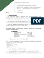 MEM ESTRUCTURAS CAMPAMENTO ALBAÑILERIA. CONFINADA