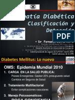 Clasificar y Detectar Una Retinopatia Diabetica