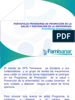 PORTAFOLIO SALUD EMPRESARIAL-1 FAMISANAR