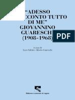 Adesso vi racconto tutto di me, Giovannino Guareschi (1908-1968)