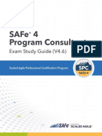 GZD-SAFe SPC 4 Exam Study Guide
