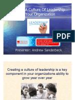 creatingacultureofleadership