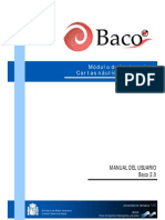 Manual Del Usuario de Baco