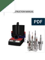 DH-2000 Manual and precaution