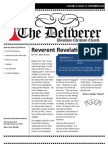 The Deliverer - Donelson Christian Church Monthly Newsletter