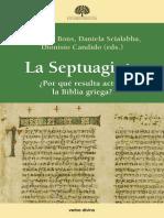 BONS, Eberhard et al. (eds.). La Septuaginta, Por qué resulta actual la biblia griega, 2017.pdf