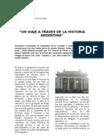 Un viaje a traves de la historia argentina