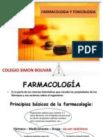 CLASE 1  Farmacologia