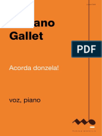 Acorda, Donzela - Luciano Gallet