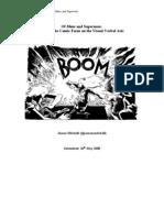 Of Maus and Supermen - a Comics Dissertation