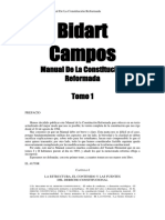 Bidart Campos - Manual De La Constitución Reformada Tomo 1
