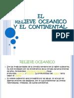 RELIEVE OCEANICO Y CONTINENTAL