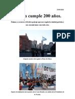 Reportaje fotográfico sobre el Bicentenario