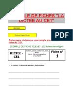EXEMPLE DE FICHES