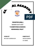 computer report file