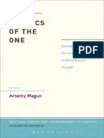 Politics of the One_ Concepts of the One and the Many in Contemporary Thought - Artemy Magun.pdf
