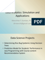 Data Analytics_Simulations and Applications