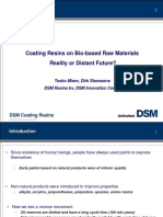 Coatings resins on bio based raw materials DSM.ppt