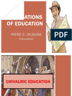 Chivalric, Guild and Saracenic