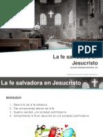 La fe salvadora en Jesucristo