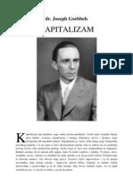 Joseph Goebbels - Kapitalizam