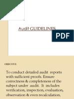 Audit-Guidelines