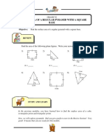 46. SURFACE AREA OF A PYRAMID WITH A SQUARE BASE