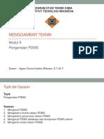 Modul 9 Pengenalan  PDMS