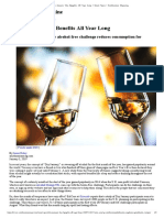 'Dry January' Has Benefits All Year Long _ Smart News _ Smithsonian Magazine