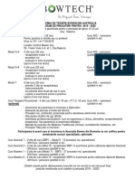 Program G151 Cluj